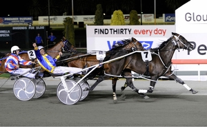 Im Themightyquinn downs Mysta Magical Mach in the 2012 Inter Dominion Grand Final at Gloucester Park