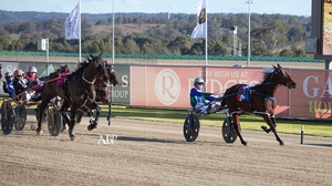 GUSTY WIN: No Win No Feed scores at Tabcorp Park Menangle today.